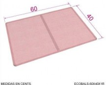 ECO-BALS TRAY (TRAY PERFORATED ALUMINUM LISA SILICONADA)