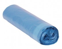 7100-ROLL 15 bags ECO-PLUS 55X56 EASY CLOSURE AD G-70 BLUE
