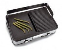 PLACA GRILL DOBLE ELECTRICA DE LACOR