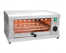 GRILL ELÉCTRICO HORIZONTAL PARRILLA SIMPLE 2000W