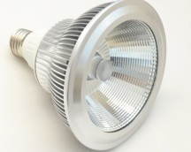 LED tipo PAR de 13Wp y 12V, DC