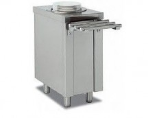 SELF-SERVICE CABINET NEUTRAL PLATES DISPENSER SDPN-40