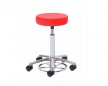 Swivel stool under