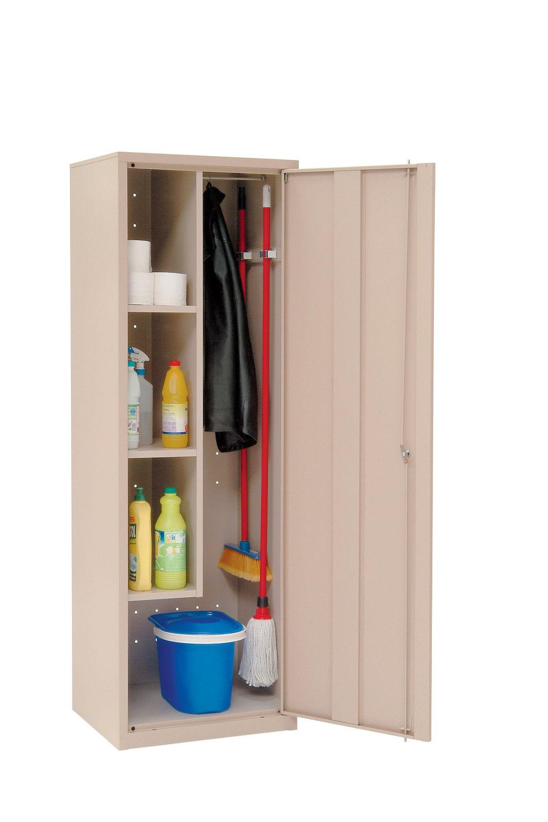 armario para utensilios de limpieza
